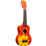 Ukulele Amahi DDUK5 Sop Orange Flower / S